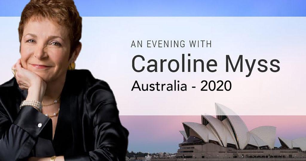 Carolline Myss in Australia