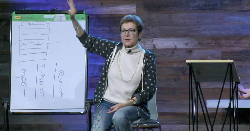 Caroline Myss teaches at 1440 Multiversity